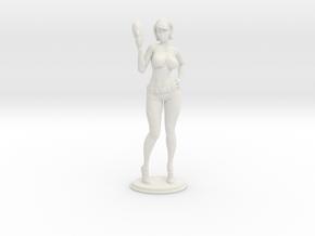 Spacegirl Lana - 54mm in White Natural Versatile Plastic