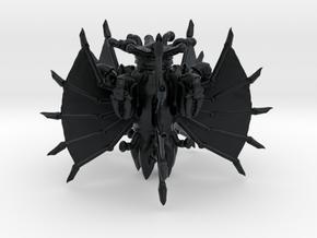 Fünffüssler 02 in Black Hi-Def Acrylate