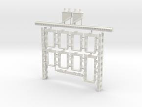 HOviM01 - Modular city house N°1 in White Natural Versatile Plastic