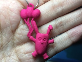 Balloon Bunny in Pink Strong & Flexible Polished
