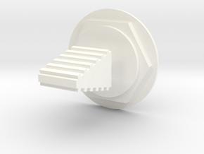 Lunar Module Switch 2 Neutral in White Processed Versatile Plastic