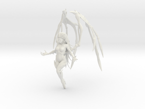 1/12 Queen of Blades Kerrigan (Hi-Poly Detailed) in White Natural Versatile Plastic