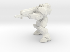 1/24 Terran Commander Raynor in White Natural Versatile Plastic