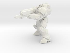 1/24 Terran Commander Raynor in White Natural Versatile Plastic