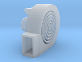 1/64 Centrifugal Fan in Smoothest Fine Detail Plastic