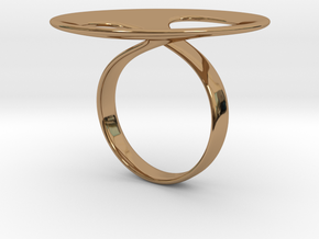 Ring tondo in Polished Brass: 5 / 49