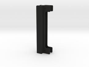 2x GK-saddle-6mm Deep in Black Natural Versatile Plastic