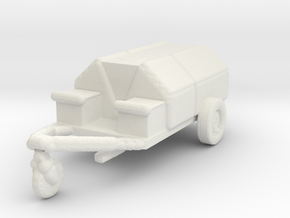 1/144 Scale USN Utility Cart in White Strong & Flexible