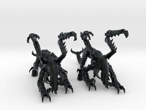 Lobor 06 in Black Hi-Def Acrylate