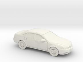 1/87 2005-12 Chevrolet Impala in White Natural Versatile Plastic