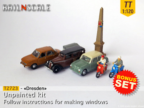 BONUS SET Dresden (TT 1:120) in Smooth Fine Detail Plastic