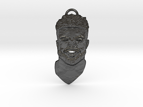 EZE21 Pendant in Matte Black Steel