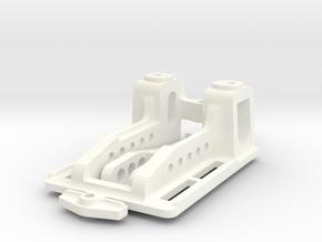Puente normal1:24 V 3 / Front Suspension Slot in White Processed Versatile Plastic