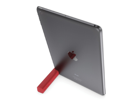 PadFoot - stand for iPad in White Natural Versatile Plastic