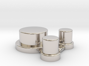 Alpinetech Style Actuators in Platinum