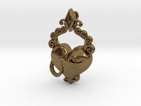 Love's Eye Opener in Polished Bronze