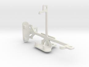 Alcatel Pixi 3 (3.5) Firefox tripod mount in White Natural Versatile Plastic