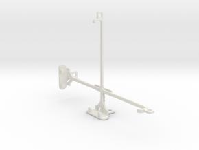Amazon Kindle Fire HD tripod & stabilizer mount in White Natural Versatile Plastic
