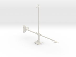 Apple iPad Air tripod & stabilizer mount in White Natural Versatile Plastic