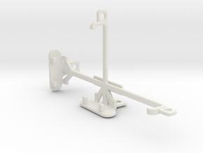 Asus Zenfone 2 Laser ZE500KG tripod mount in White Natural Versatile Plastic