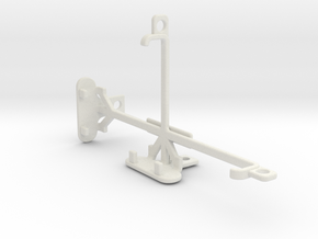 Asus Zenfone 2 Laser ZE500KL tripod mount in White Natural Versatile Plastic