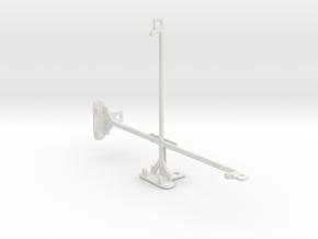 Apple iPad mini Wi-Fi + Cellular tripod mount in White Natural Versatile Plastic