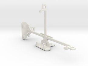 BlackBerry Leap tripod & stabilizer mount in White Natural Versatile Plastic