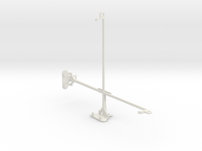Apple iPad Wi-Fi tripod & stabilizer mount in White Natural Versatile Plastic