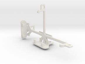 BLU Dash L tripod & stabilizer mount in White Natural Versatile Plastic