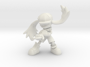 Klonoa One Part in White Natural Versatile Plastic