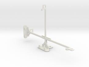 Huawei MediaPad T1 7.0 tripod & stabilizer mount in White Natural Versatile Plastic
