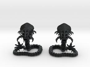 Zoobra 02 II in Black Hi-Def Acrylate