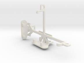Lava Flair E2 tripod & stabilizer mount in White Natural Versatile Plastic