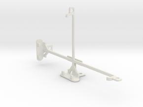 Maxwest Nitro Phablet 71 tripod & stabilizer mount in White Natural Versatile Plastic