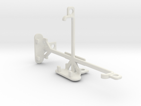 Microsoft Lumia 550 tripod & stabilizer mount in White Natural Versatile Plastic