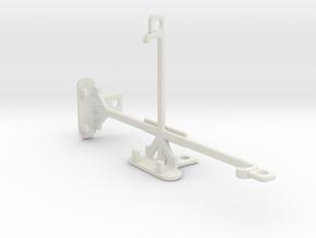 Motorola Moto Z Force tripod & stabilizer mount in White Natural Versatile Plastic