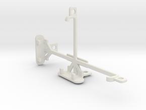 Oppo Find 5 tripod & stabilizer mount in White Natural Versatile Plastic