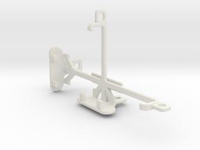 Plum Sync 4.0b tripod & stabilizer mount in White Natural Versatile Plastic