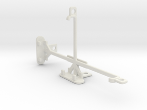 Samsung Galaxy Note5 tripod & stabilizer mount in White Natural Versatile Plastic