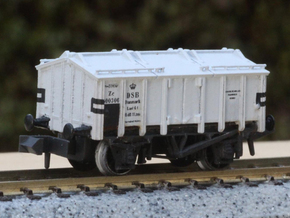 DSB Zc in N scale in Frosted Extreme Detail