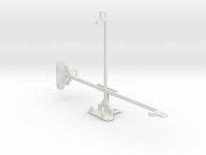 Samsung Galaxy Tab 3 Lite 7.0 VE tripod mount in White Natural Versatile Plastic