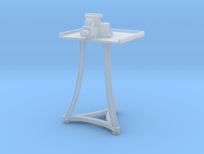 1:32 Blacksmith Vise Table in Smooth Fine Detail Plastic