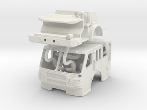 1/87 E-One Quest Flat Roof in White Natural Versatile Plastic