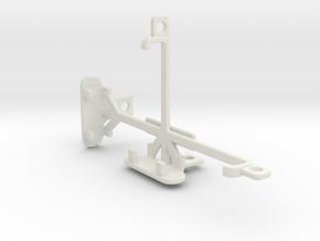 Unnecto Quattro X tripod & stabilizer mount in White Natural Versatile Plastic