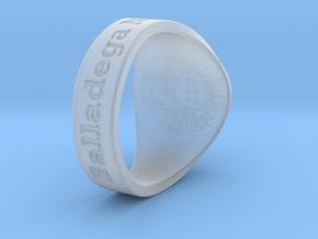 Nuperball JBaayBaay Ring Season 7 in Smooth Fine Detail Plastic