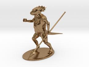 Troglodyte Miniature in Natural Brass: 1:60.96