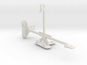 Wiko Highway Pure 4G tripod & stabilizer mount in White Natural Versatile Plastic