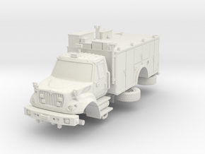 1/87 FDNY seagrave Tactical Support Unit in White Natural Versatile Plastic
