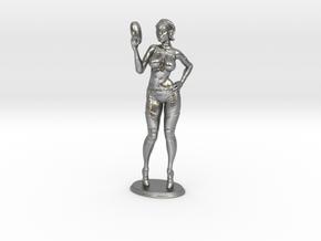 Mini Lana in Raw Silver