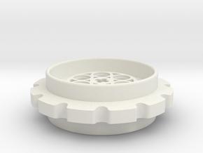 LT Sprocket 12T in White Natural Versatile Plastic